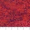 """Double Wide - 108""""  / Northcottt / Shimmer Circles / Red / B22991-26"""