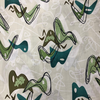 Hoffman - Barkcloth - Retro Vibes / Green / Q5002-487