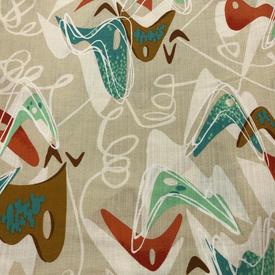 Hoffman - Barkcloth - Retro Vibes / Sand / Q5002-544