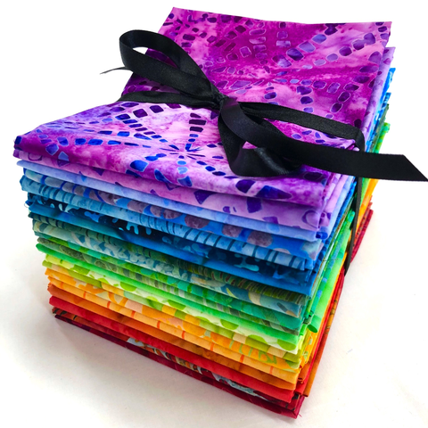 FQ Bundle - Batiks / Rainbow (BQB-13)