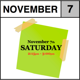 In-Store Appointment - November 7th - Saturday (2:15pm-3:00pm)