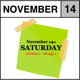 In-Store Appointment - November14th - Saturday (12:00pm-12:45pm)