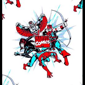 Camelot - Marvel Comics /  Superhero's / Dot Burst / 13020302-03 / White