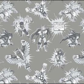 Camelot - Marvel Comics /  Superhero's / Tonal / 13020305-01 / Gray
