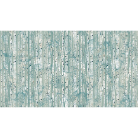 Nothcott - Melanie Samra / Whispering Pines / Birch Tree Trunks / Blue / DP23754-42