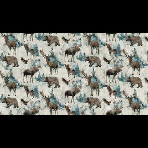 Nothcott - Melanie Samra / Whispering Pines / Wildlife / Beige / DP23752-12