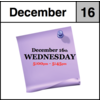 In-Store Appointment - December 16th, Wednesday (5:00pm-5:45pm)