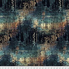 Tim Holtz - Abandoned 2 / Fractured Mosaic - PWTH130.INDIGO