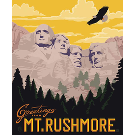 RB - PANEL / Destination / Mt. Rushmore / P10165-RUSHMORE
