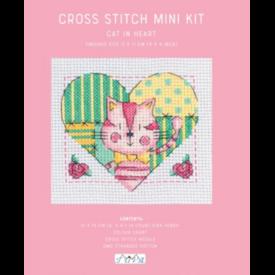 Cross Stitch Mini Kit / Kitty