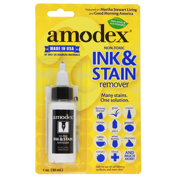 Amodex - Ink & Stain Remover (1oz Bottle)