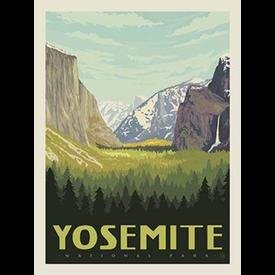 RB - YOSEMITE - National Park Panel