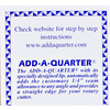 Add-A-Quarter / 12 Inch Ruler