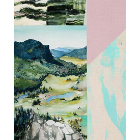 Paintbrush Studios - MODERN LANDSCAPES PANEL / Promised / 120-21518