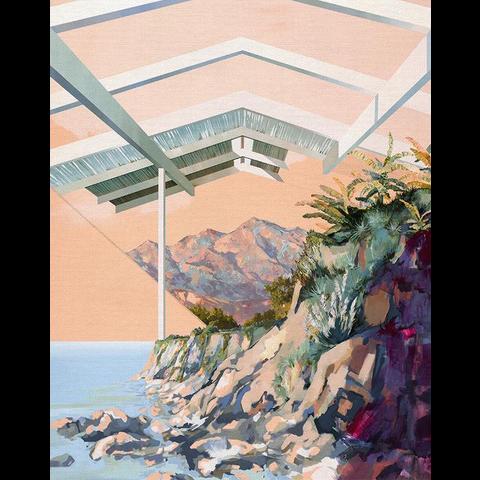 Paintbrush Studios - MODERN LANDSCAPES PANEL / Shaman / 120-21517