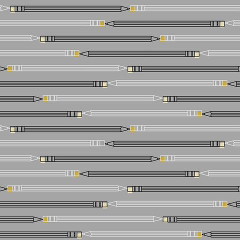 Paintbrush Studios - Ring Ring / Pencil Stripe / Grey / 120-0026