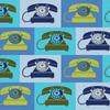 Paintbrush Studios - Ring Ring / Vintage Telephone / Blue / 120-0002