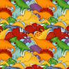 Paintbrush Studios - Lost World / Dinosaurs / Multi / Blue / 112-31621