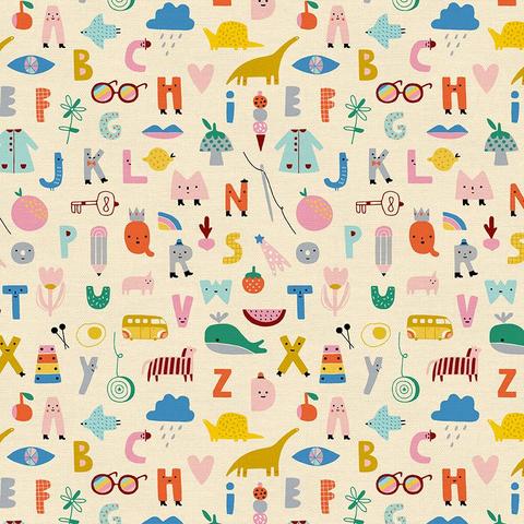 Paintbrush Studios - Animal Alphabet / ABC / Cream / 120-21823