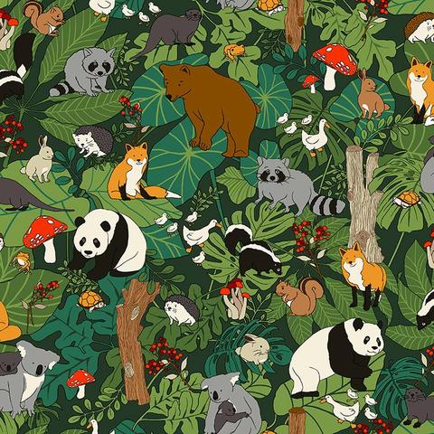 Paintbrush Studios - Menagerie / Animals in Trees / Multi / 120-99700