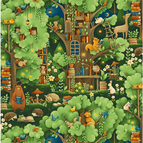Paintbrush Studios - Forest Fables / Animal Village / 120-19614