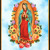 RK - PANEL - Inner Faith / SKY / Small Squares / Lady of Guadalupe / 17296-63 SKY