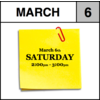 Appointment - March 6th - Saturday (2:00pm-3:00pm)
