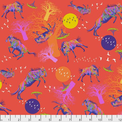 Free Spirit - Lorraine Turner - Migration / Wildebeests in Motion / PWLT014.RED