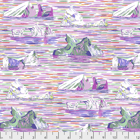 Free Spirit - Lorraine Turner - Migration / Icebergs / PWLT018.LAVENDER