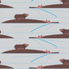 Organic - Charley Harper - Nurture / Love from below / Hippos / BIFCH-170