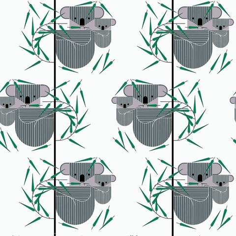 Organic - Charley Harper - Nurture / Koko Bear / BIFK-CH-81