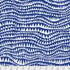 Kaffe Fassett - Sharks Teeth / PWBM060.COBALT