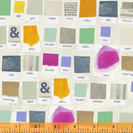 WF - Carrie Bloomston - Color Theory / Swatch / 39698AD-1