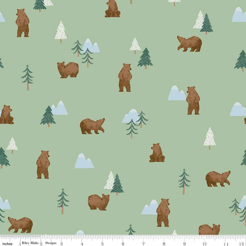 RB - Camp Woodland - Grizzly Bears / C10461-PISTACHIO