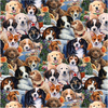 CP - Animal Love / Garden Puppies / Digital Print / DATAL-3167-6C-1