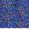 "Double Wide - 108""  / Kaffe Fassett / Millefiore / QBGP006.BLUE"