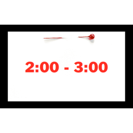 Appointments Appointment - May 22nd - Saturday (2:00pm-3:00pm)