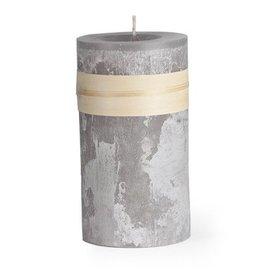 Timber Candle 3.25x6 Smoky Gray -  Vance Kitira