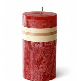 Timber Candle 3.25x9 - Cranberry -  Vance Kitira