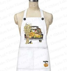 Fall Black Truck Apron