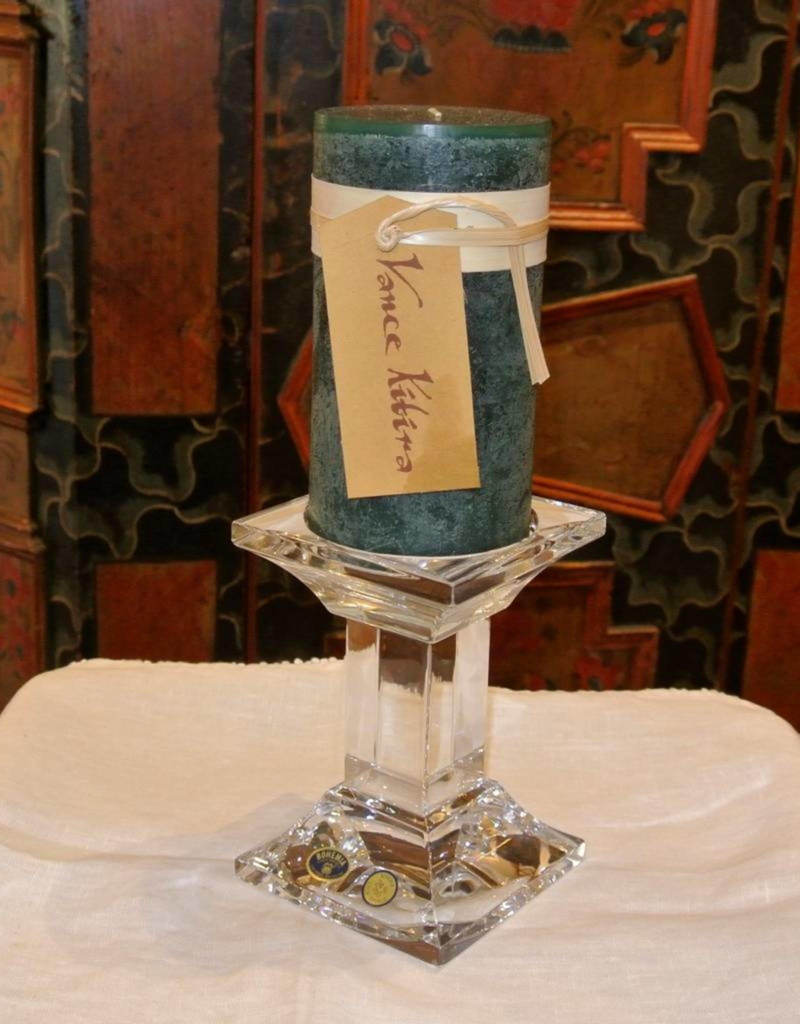 Timber Candle 3.25x6 Evergreen- Vance Kitira