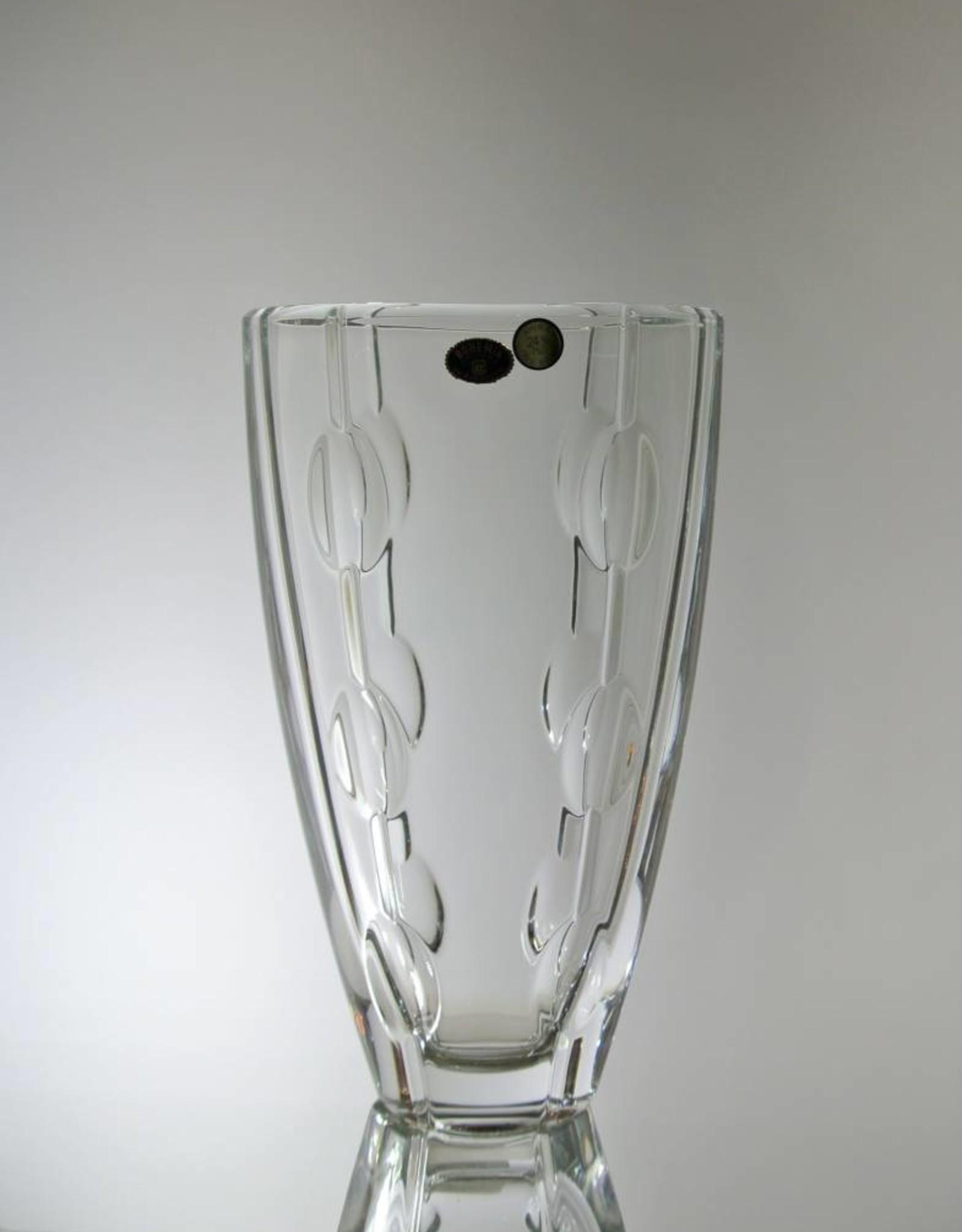 """Bohemia Crystal -11"""" Vase (9.8)"""