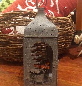Winter Rockies Lantern - Small