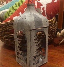 Winter Rockies Lantern