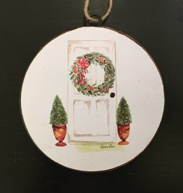 Topiary Disc Ornament