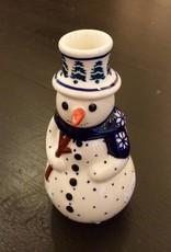 Snowman - Snowflake Scarf