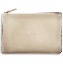 Katie Loxton PP - Good as Gold Metallic Gold