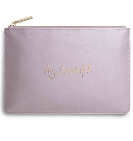 Katie Loxton PP - Hey Beautiful Metallic PInk