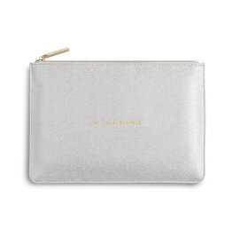 Katie Loxton PP - Live Love Sparkle Silver Shimmer