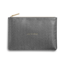 Katie Loxton PP - Live to Dream Charcoal Shimmer